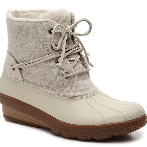 Sperry Saltwater Tide Wedge Duck Boots